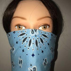 Bandana Face Mask Scarf Headband Swarovski Crystal
